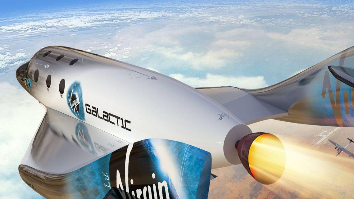 Разработчики Virgin Galactic провели тесты корабля для космических туристов