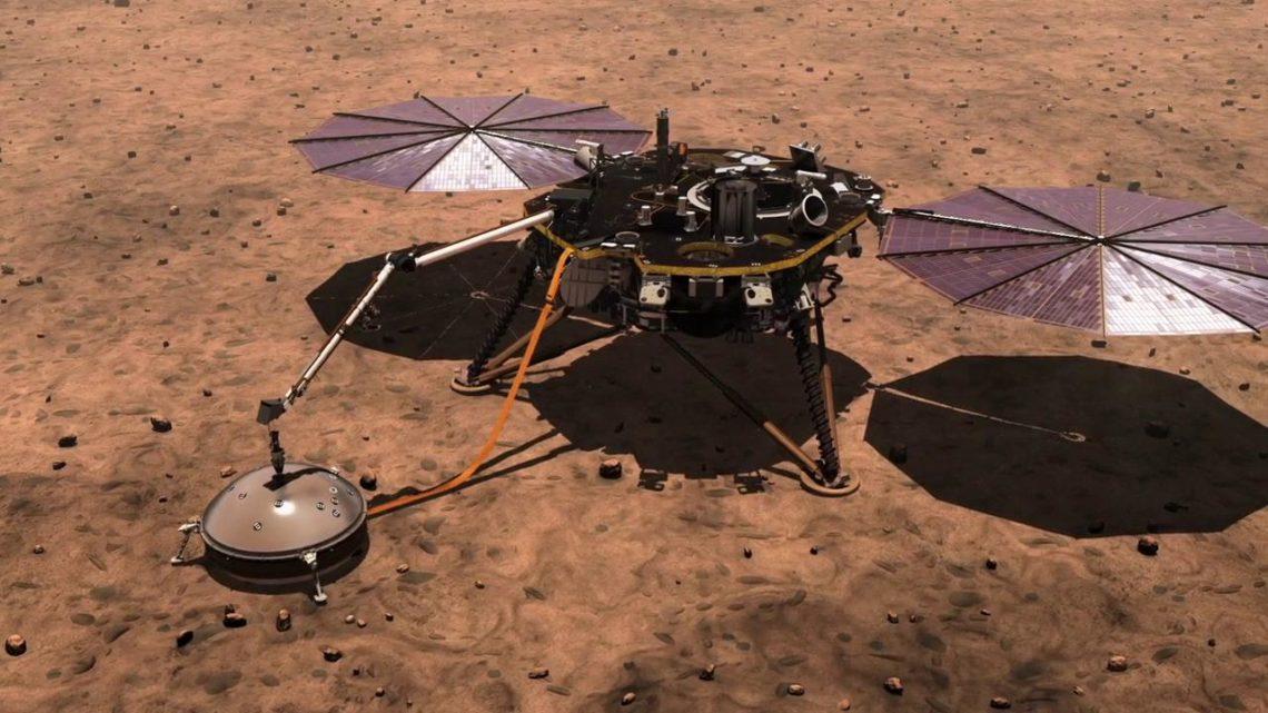 Польский «Крот» начал бурение марсианского грунта