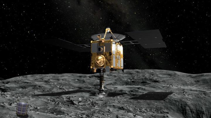 Японский исследовательский зонд обнаружил на астероиде Рюгу воду