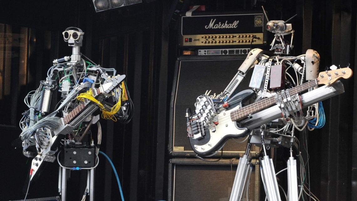 Пермские студенты «собрали» группу роботов-музыкантов