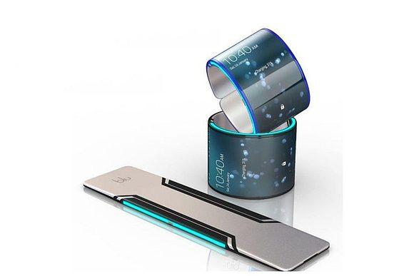 Смартфон-браслет от Samsung: гибрид фитнес-браслета и смартфона