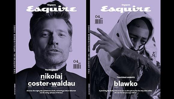 Работа бота: Esquire Singapore выпустил журнал, созданный роботом