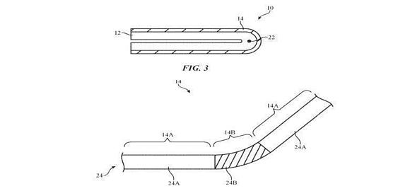 Apple получила еще один патент на складной дисплей с гибким экраном