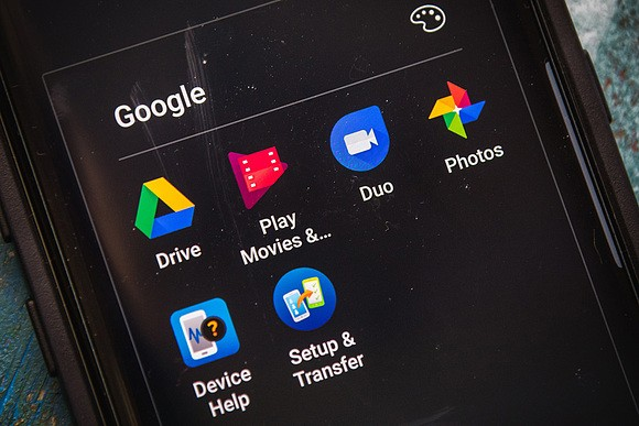 Простота лишает синхронизации Google Диск и Фото