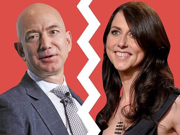Джефф Безос официально развелся с супругой, которая получила 4% акций Amazon