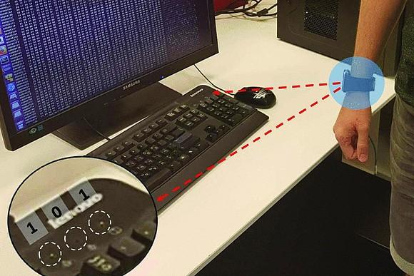 Взлом можно осуществить с помощью лампочек на клавиатуре