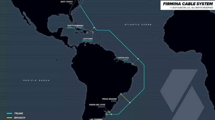 Google прокладывает подводный кабель Firmina между США и Латинской Америкой   Бизнес на Рынке ИТ